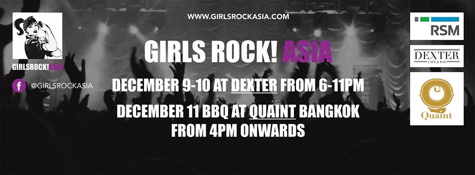 Girls Rock! Asia's First Ever All-Girl Battle of the Bands Competition