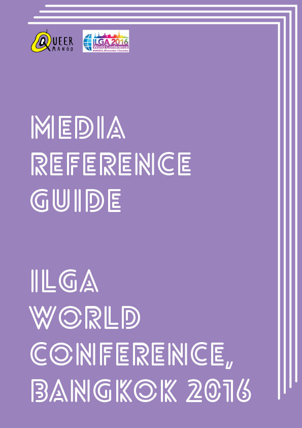 QueerMango Media Reference for ILGA World, Bangkok