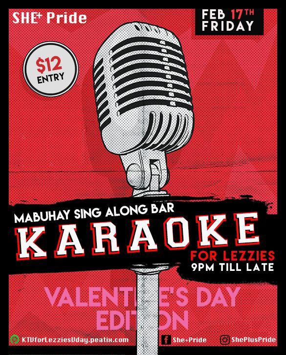 Valentine's Karaoke for Queer Girls